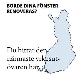 oletuksena på svenska